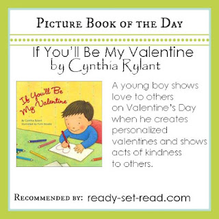 cynthia rylant, picture book, valentines day for kids, ready set read, images