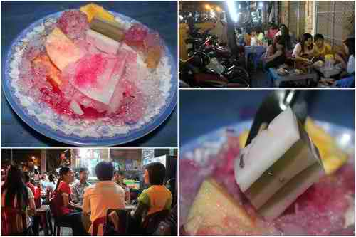 Thưởng thức trái cây dĩa ở Nguyễn Cảnh Chân, Q1, địa điểm ăn uống 365, quán ăn vặt