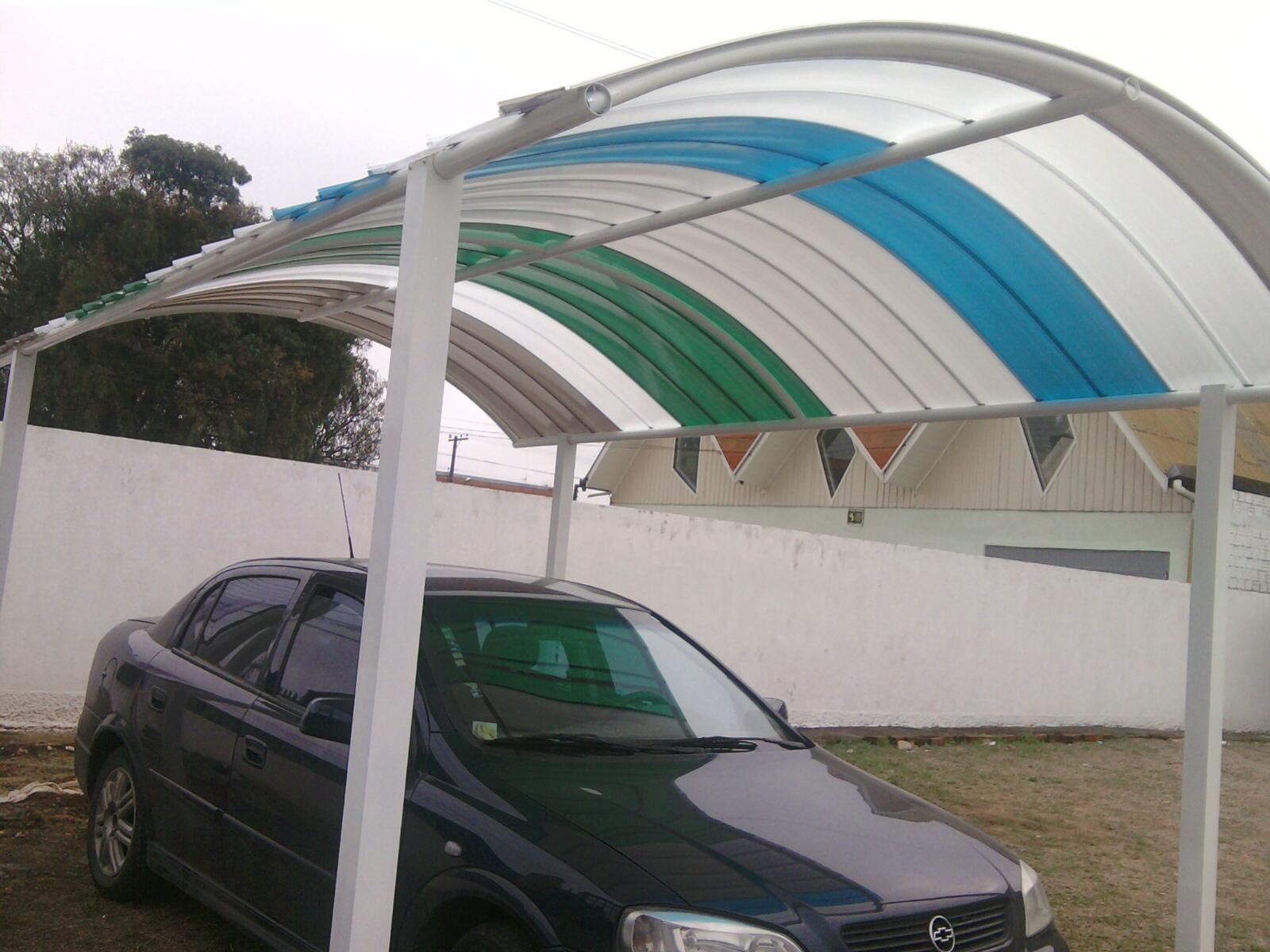 Suficiente Garagem de Policarbonato – Telhas Click – Cobertura de Veículos em  HG17