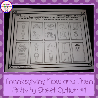 http://www.teacherspayteachers.com/Product/Thanksgiving-Fun-Activities-398177