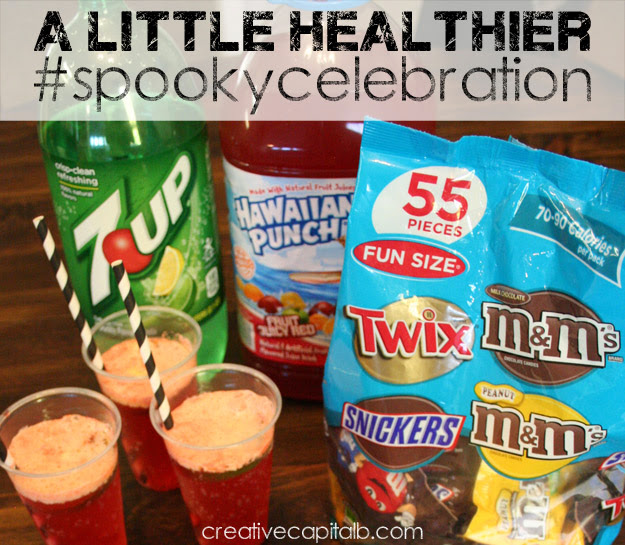 Hawaiian Punch, 7UP and M&Ms make a great #spookycelebration