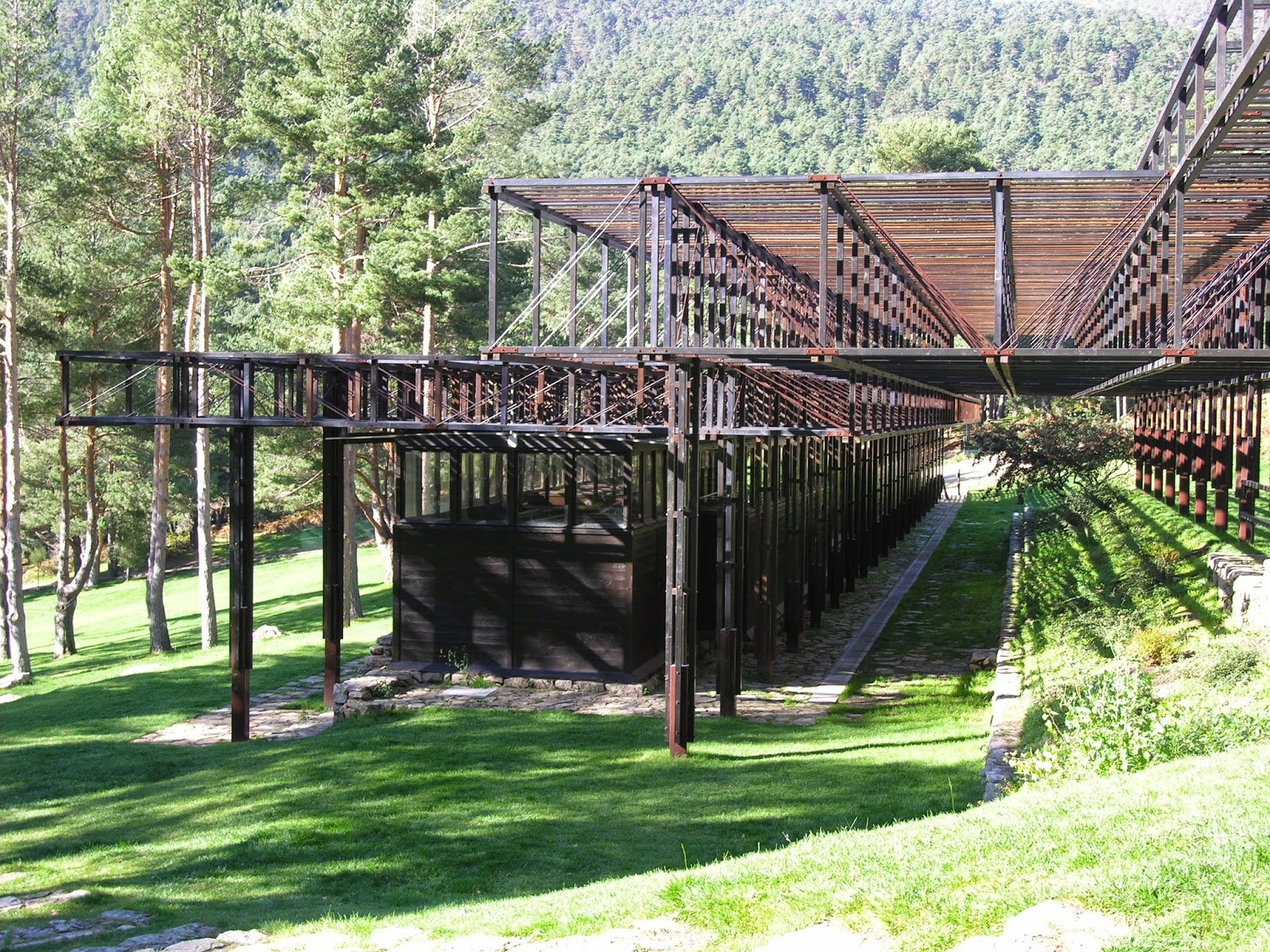 Valle de la fuenfria lo que cercedilla esconde ii el for Piscina que se esconde