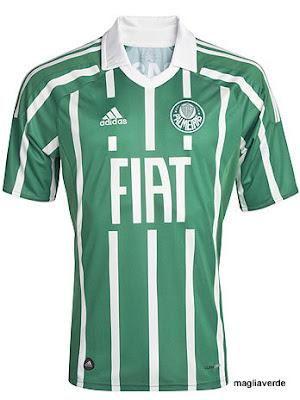 Maglia Verde  Terceira camisa 2011 2012  a listrada de volta! 024a94853d981