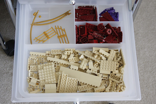 itso divided trays for lego organization