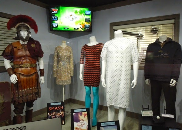 Original movie TV costume exhibit