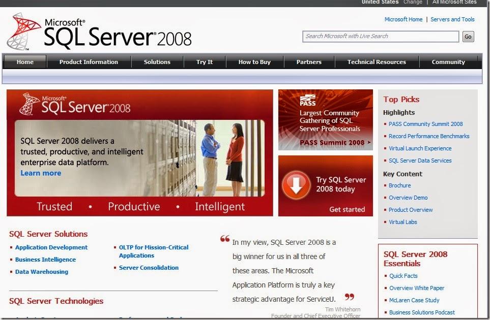 gambar microsoft SQL Server
