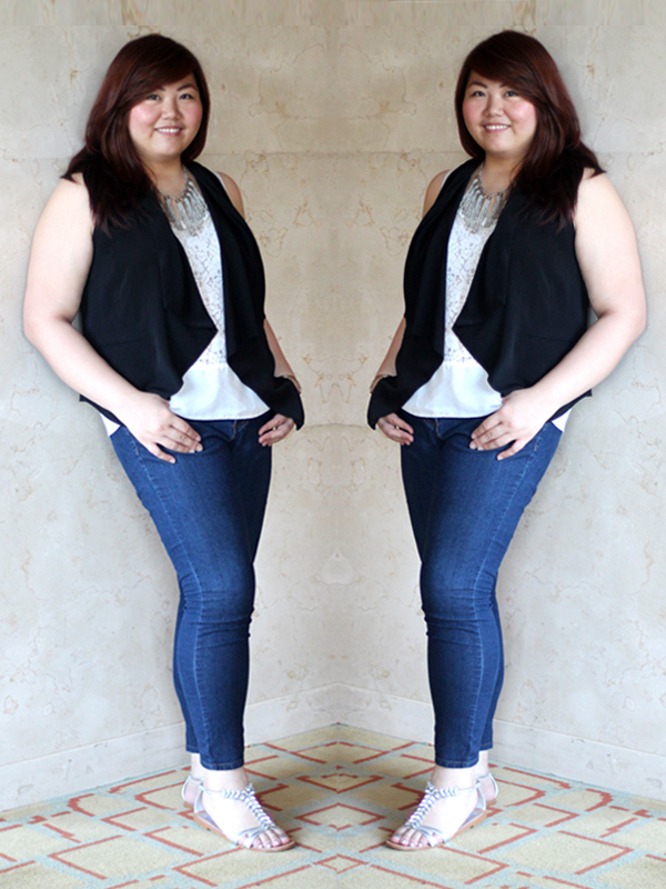 Chinese Plus Size Blogger, Asian Curvy Blogger, Positive Body Image