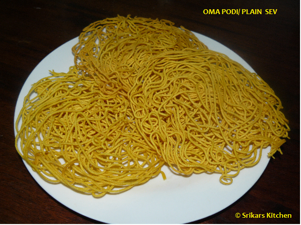 OMA PODI- PLAIN SEV- NEYLON SEV- DIWALI SNACKS RECIPES
