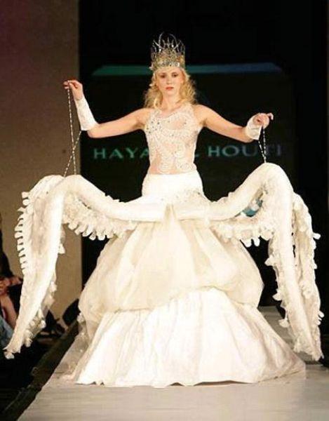 Octopus Prom Dress