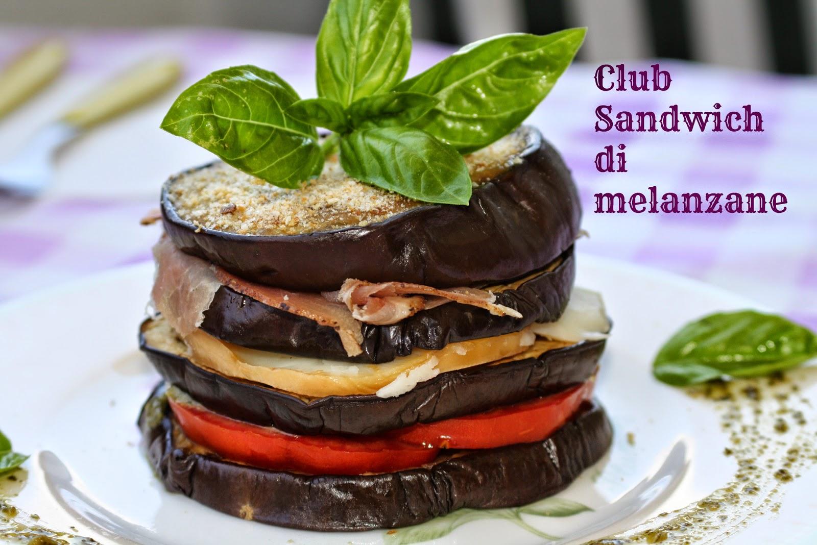 #11 club sandwich di melanzane - estivamente stagioniamo!