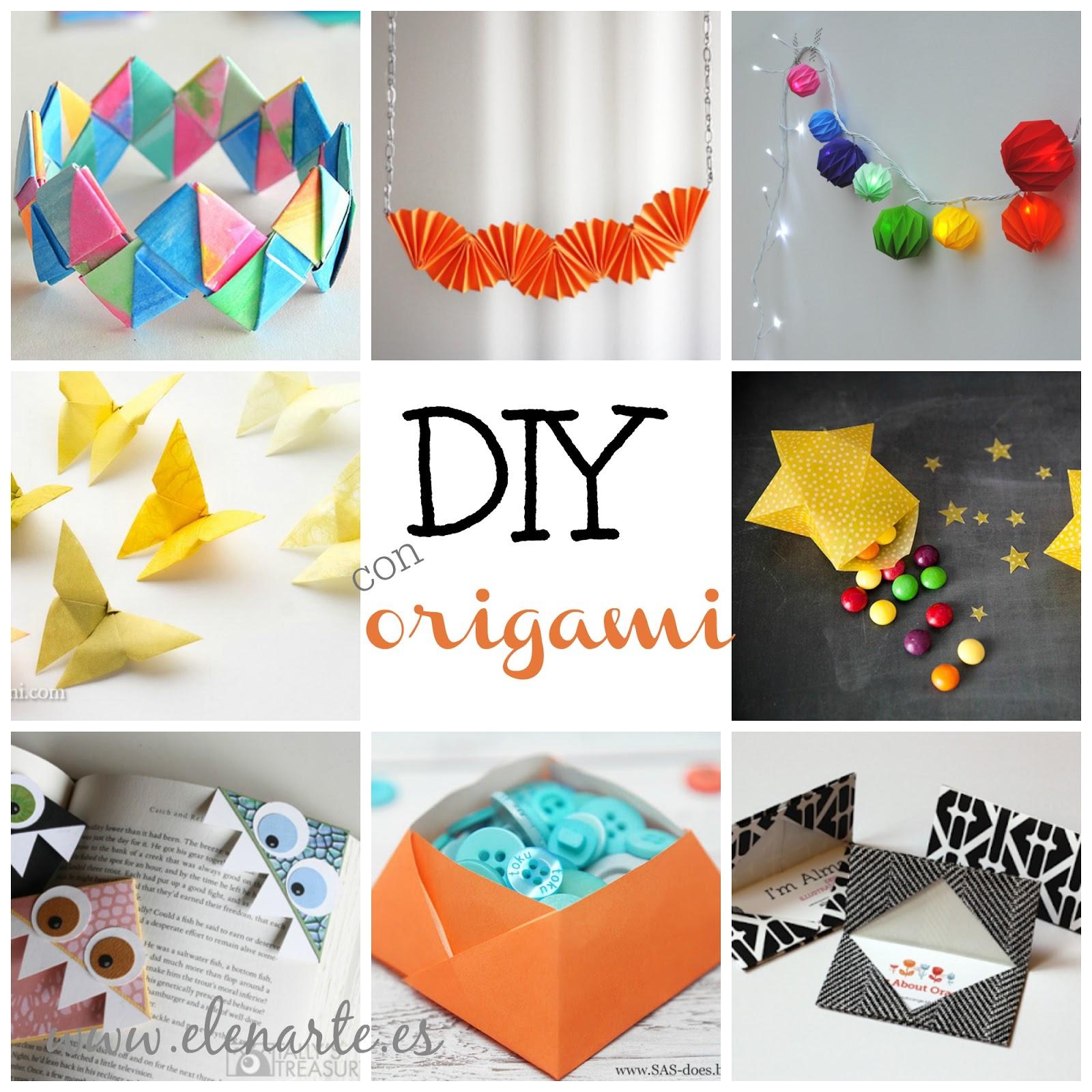 ideas con origami