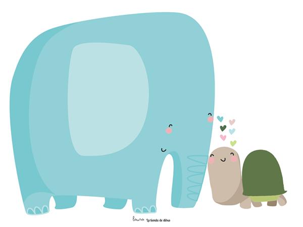 Cuento: SONGO, El elefante que quería dibujar lo que le gustaba