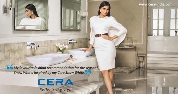 Sonam Kapoor's CERA India TVC