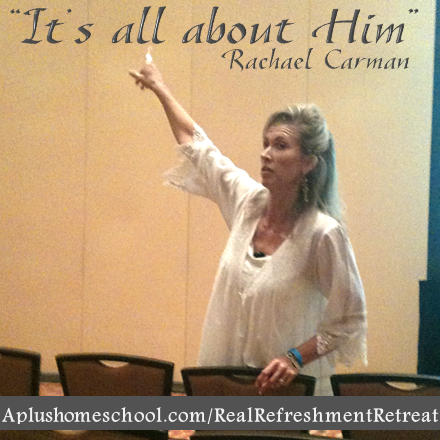real refreshment - with Rachael Carman