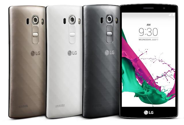 LG G4s Beat blanco negro  gris plata fotos