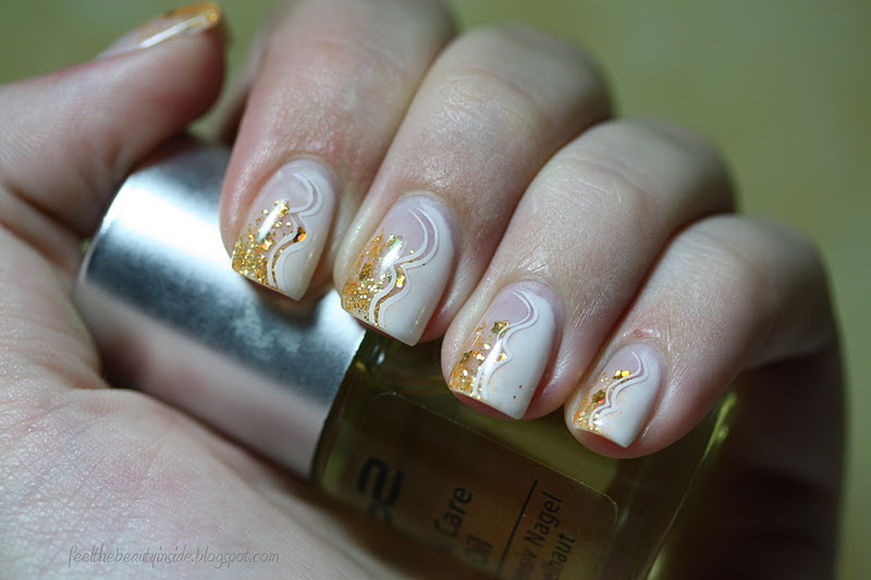 Feel the beauty inside dezember fingern gel nageldesign for Glitzer bilder selber machen