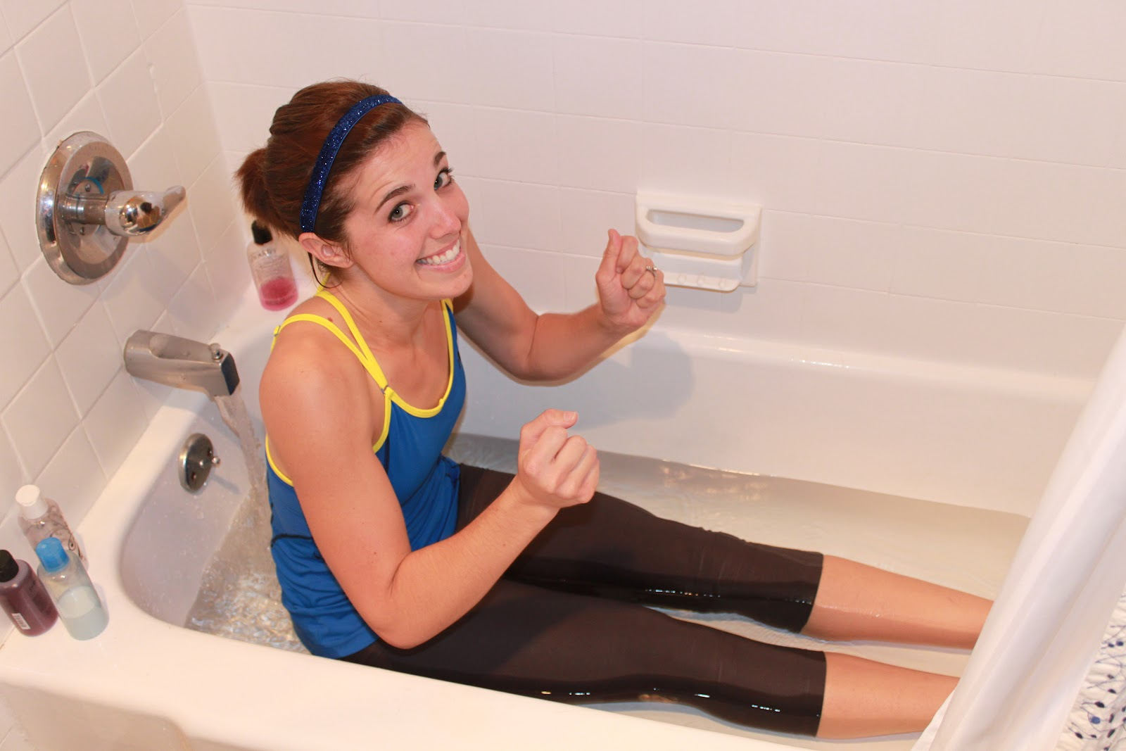 a better life with burgers ice bath