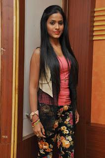 Prashanthi at affair press meet 003.jpg
