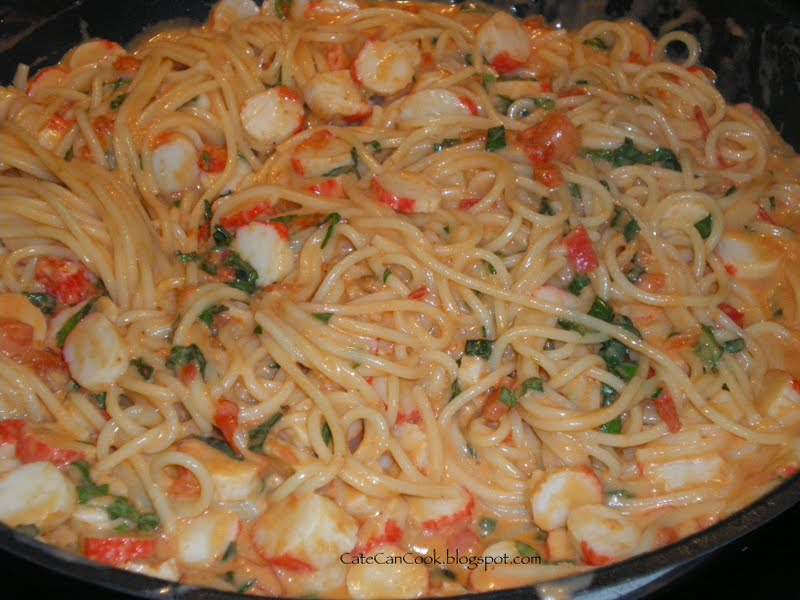 Cate Can Cook, So Can You!!: Surimi Pasta