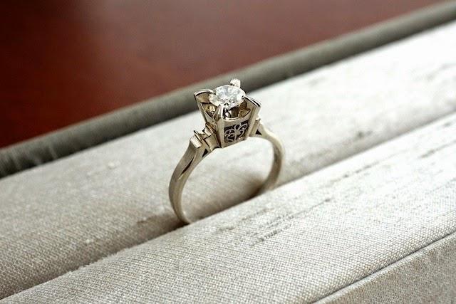 リスタイル(リフォーム)するのは曾祖母様からのダイヤモンド。