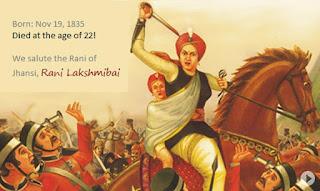 Jhansi Ki Rani Laxmibai escape from Jhansi with her son
