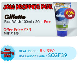 gillete-mens-foam-face-wash-discount-offer-cheap-price
