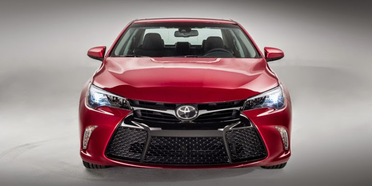 2015 : Toyota Camry Facelift More Aggressive!