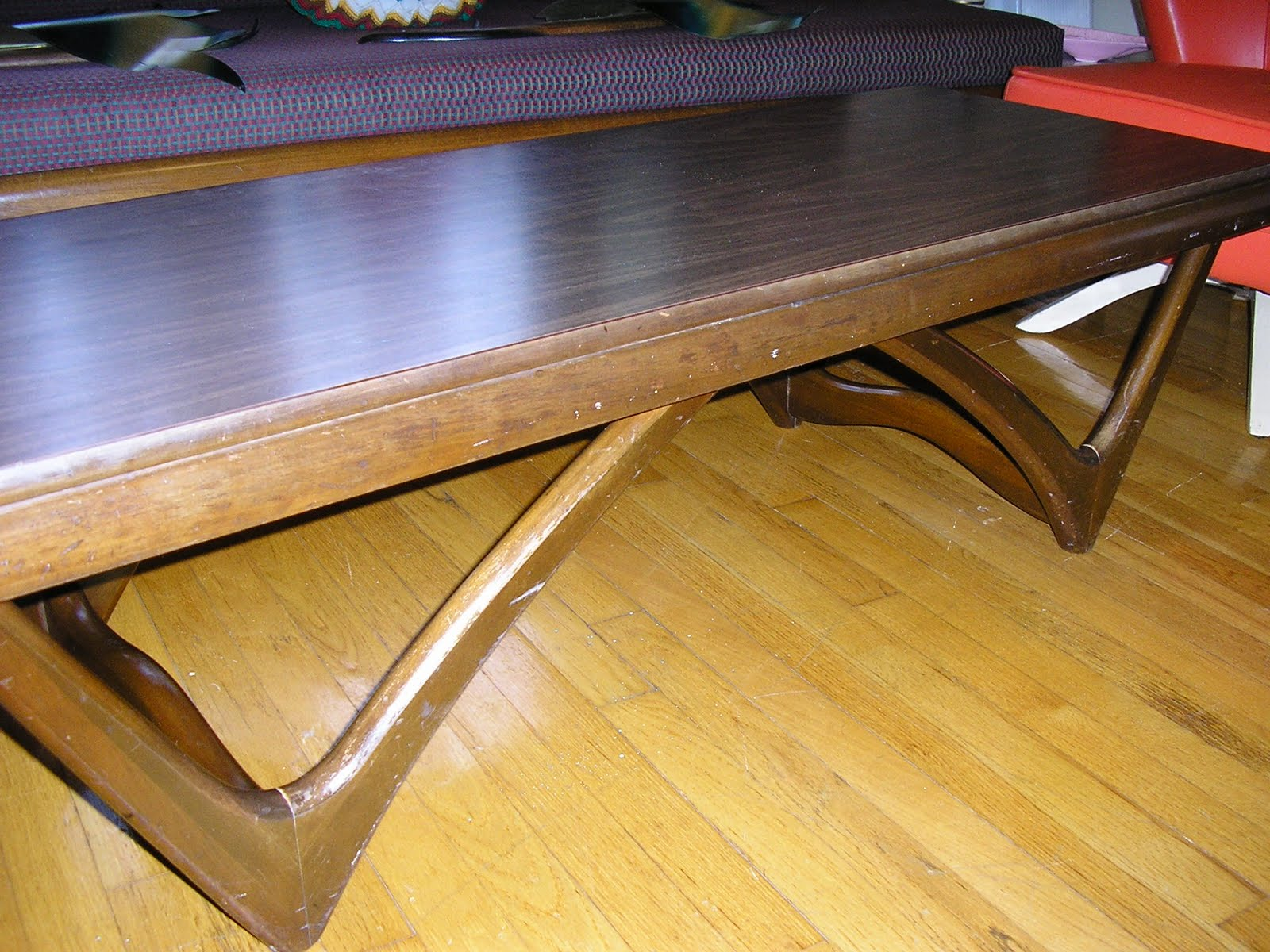 Adrian Pearsall Coffee Table Teak And Glass Dining Table By