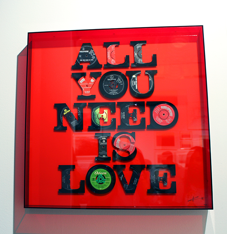 All you Need Is Love by Keith Haynes at MBAB 2014, Art Basel, Scope Gallery