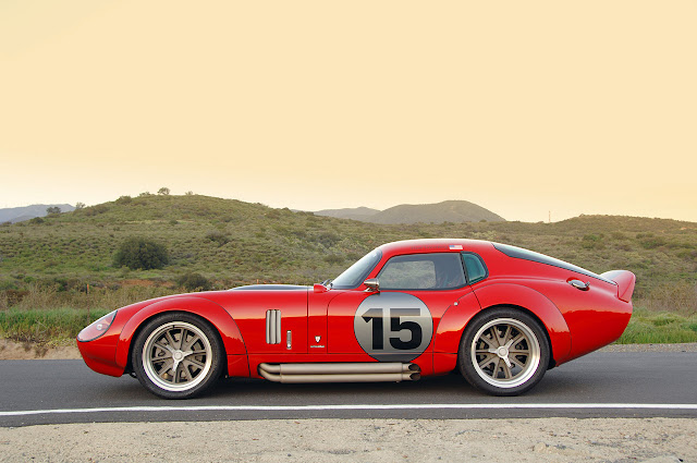 2009+SHELBY+DAYTONA+COUPE+LE+MANS+ EDITION the Ford 351 Windsor block. Powering this particular SHELBY  Daytona Coupe Le Mans is a Roush 402R V8 producing 530 horsepower and 515 lb-ft torque mated to a Tremec T56 6-speed transmission
