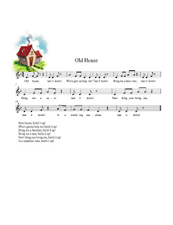 Teaching music tanya 39 s kod ly aspiring blog old house for Old house songs