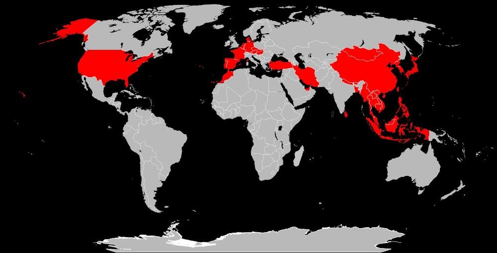 The World According to My Passport Stamps