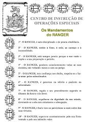 Os 10 Mandamentos de um RANGER