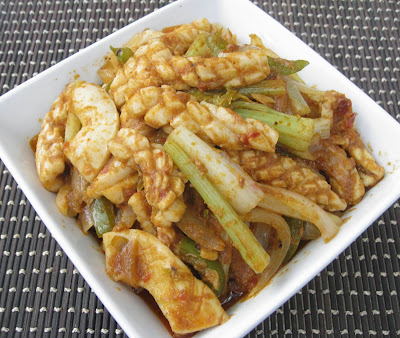 My Asian Kitchen: Stir-fry White Cuttlefish with Celery in Spicy Assam ...