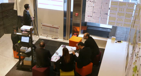Lab' 2.0 du Crédit Agricole d'Aquitaine
