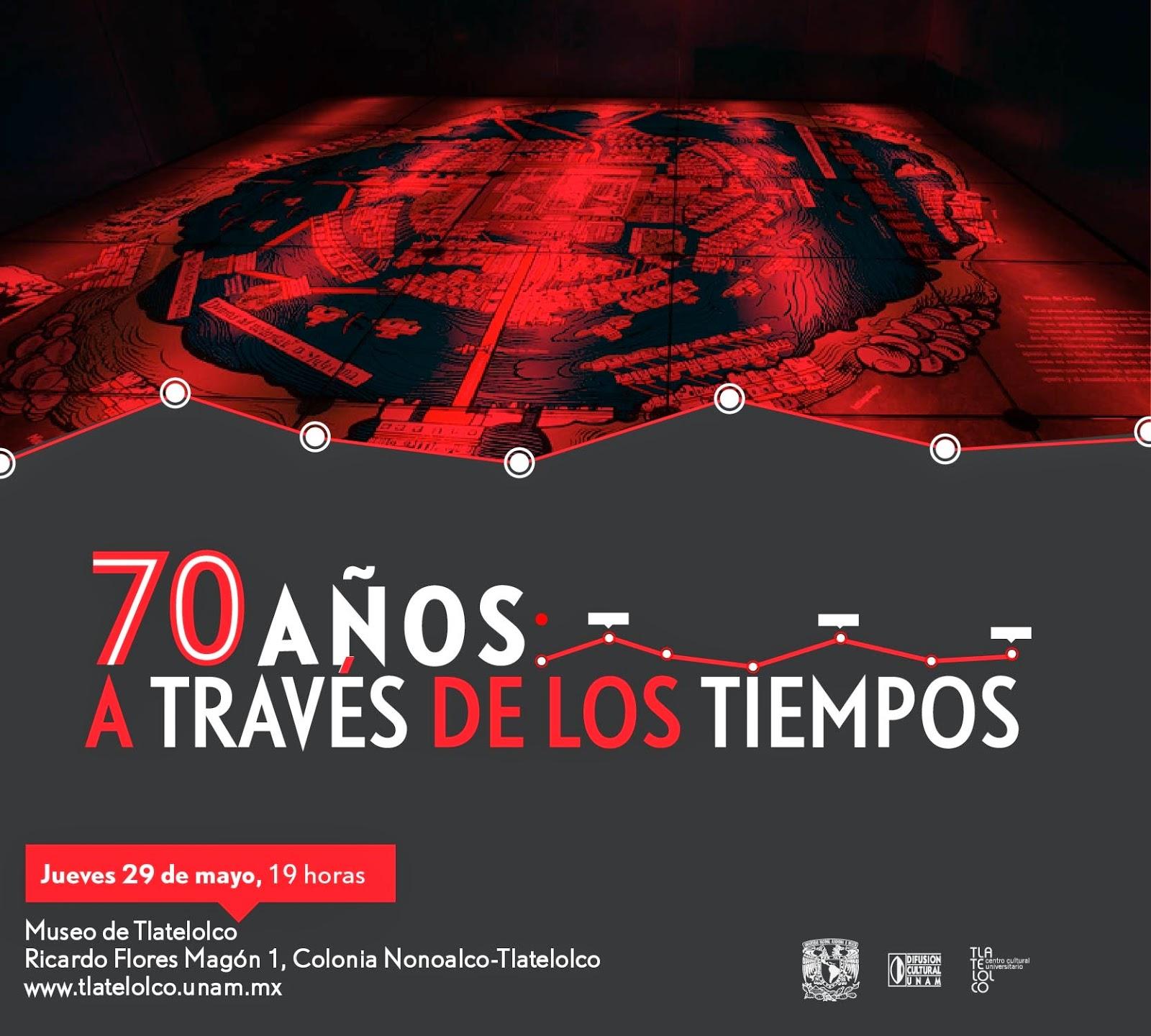 Exposición fotográfica sobre la historia de Tlatelolco