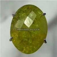 Batu Permata Yellow Garnet