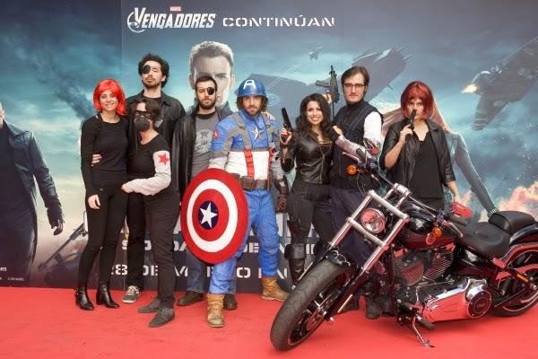 """Evento Fan en Madrid de """"Capitán América: El Soldado de Invierno"""""""
