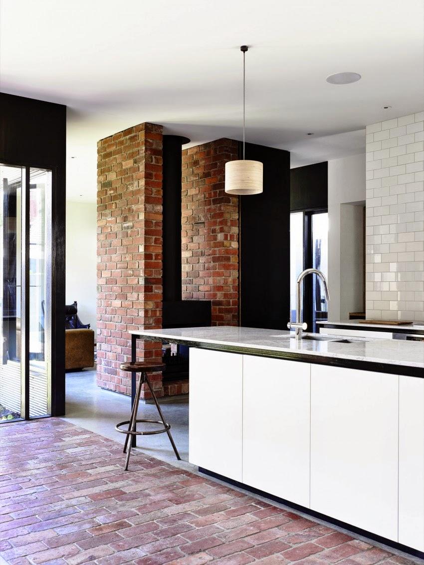 La Northcote Residence dei Wolveridge Architects è situata alla ...