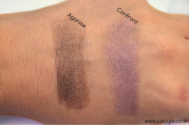Makeup Revolution Eye Dusts review