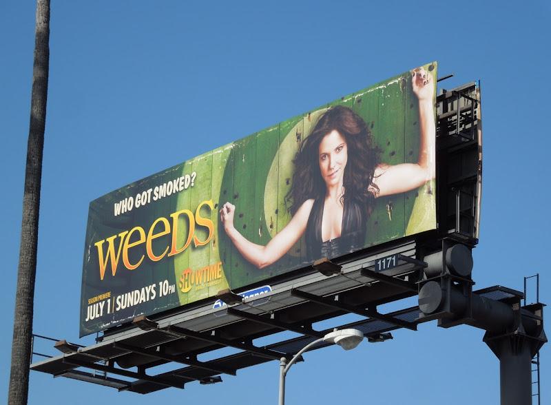 Weeds season 8 Showtime billboard