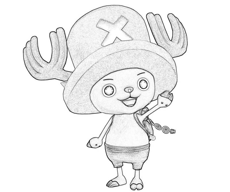 one-piece-tony-tony-chopper-happy-coloring-pages