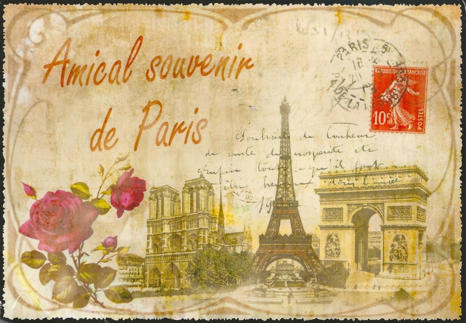 My Favorite Views France Paris Vintage Images