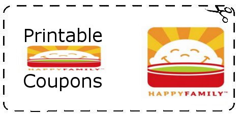 Happy Baby Organic Baby Food Coupons