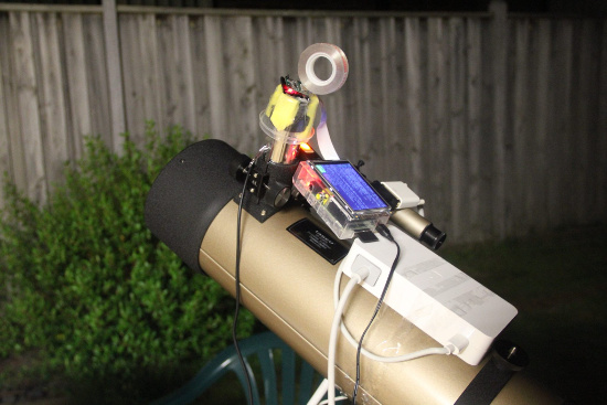 raspberry pi telescopio