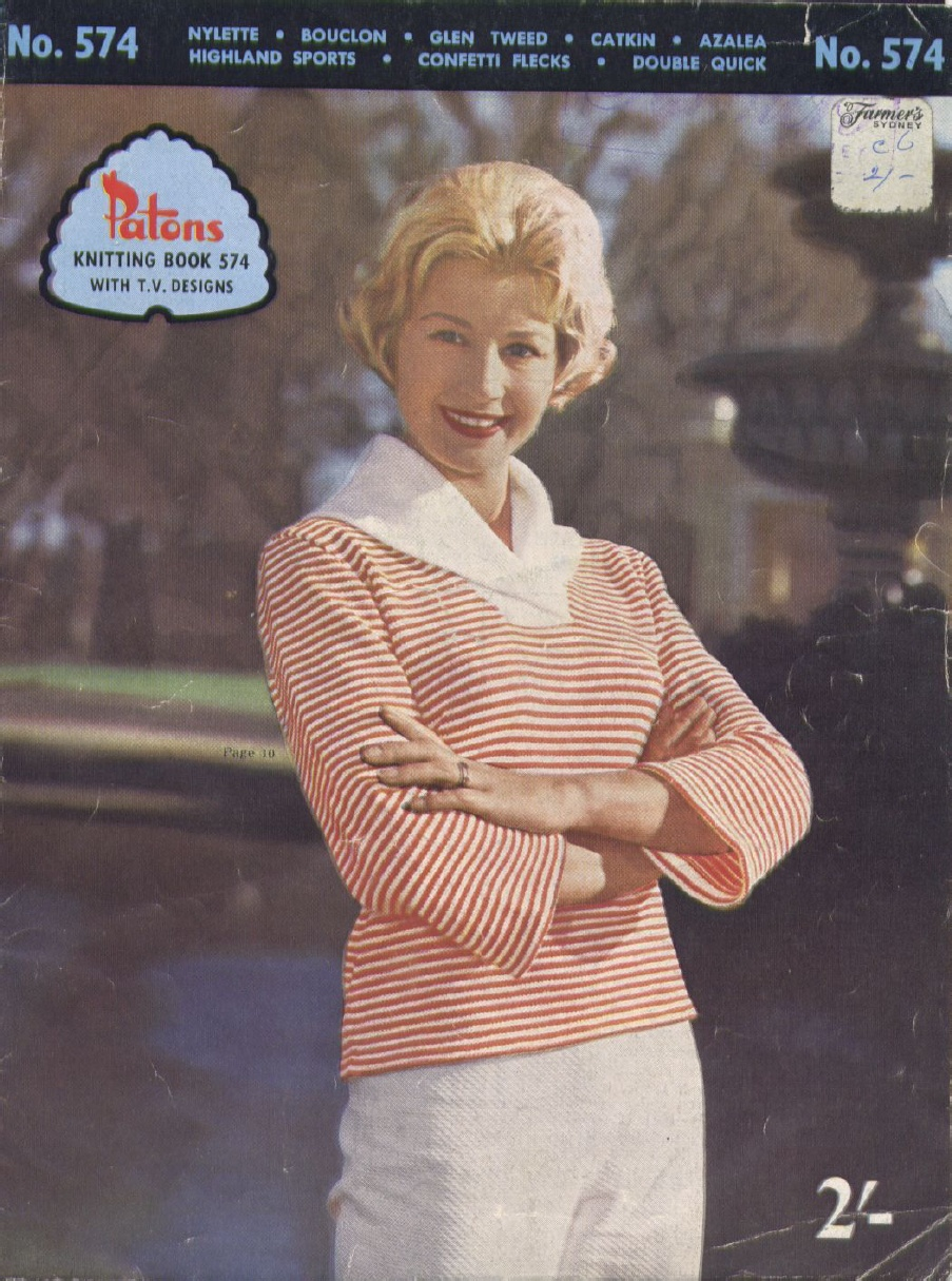 The Vintage Pattern Files: 1960\'s Knitting - Patons Booklet No.574