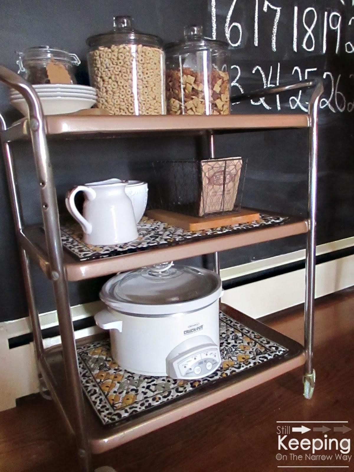 Still Keeping The Narrow Way The Art Improvisation A Kitchen Cart Mak