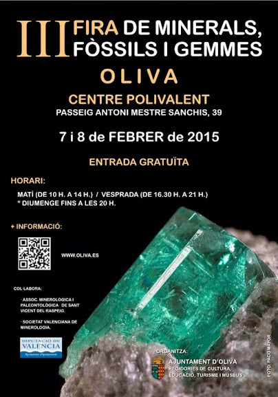 III FERIA DE MINERALES. OLIVA