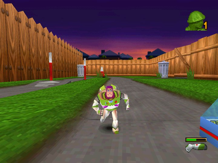 Toy Story 1 Games : Games compressed