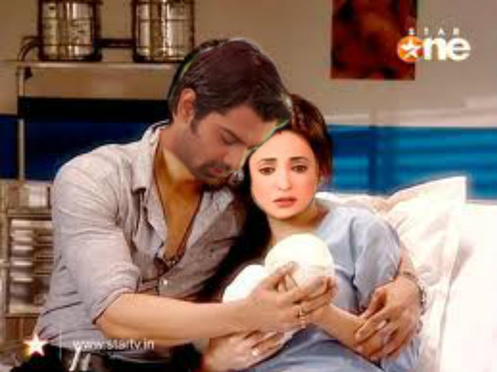 arnav held her close to him no khushi this is reality and this our own